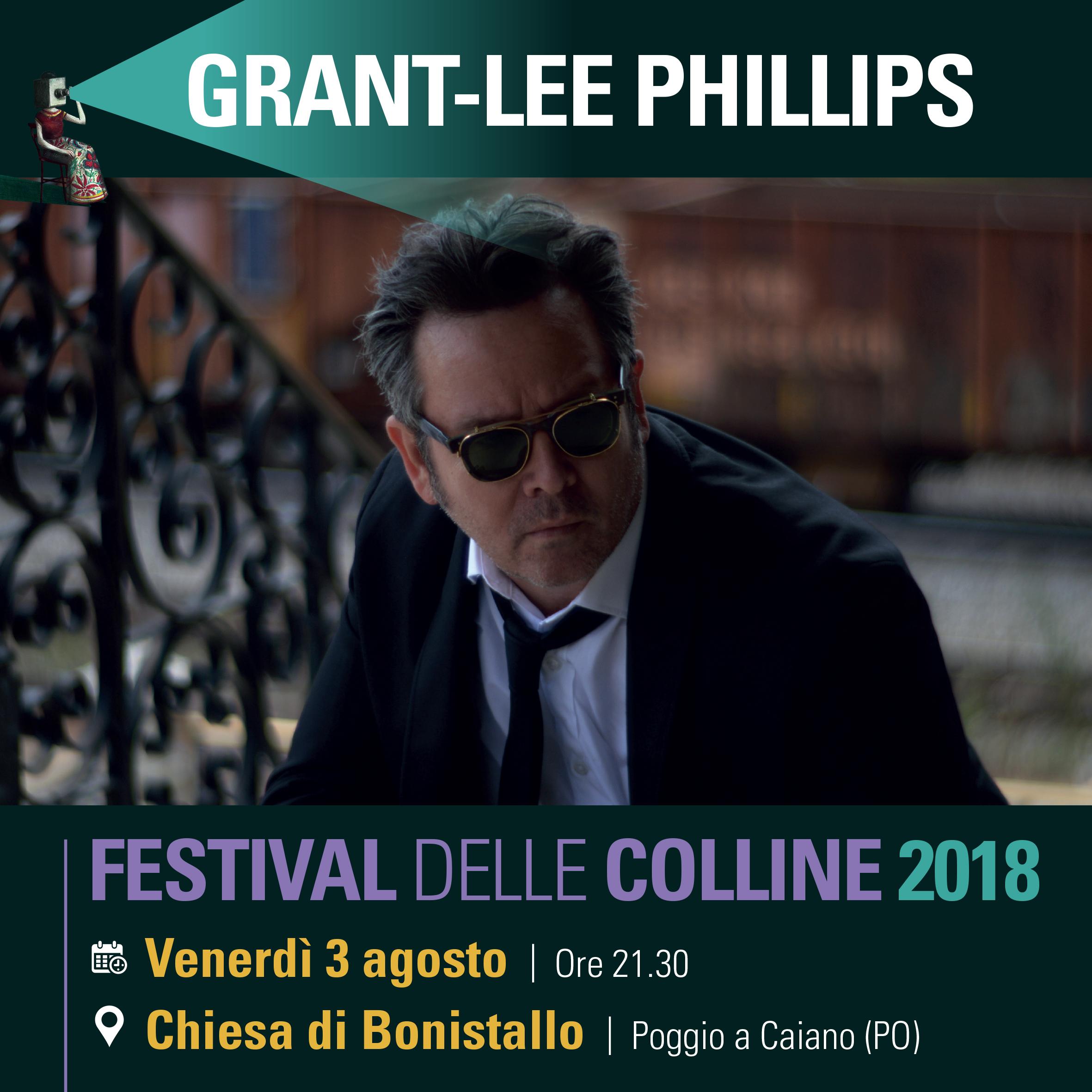 Grant Lee Phillips al Festival delle Colline 2018