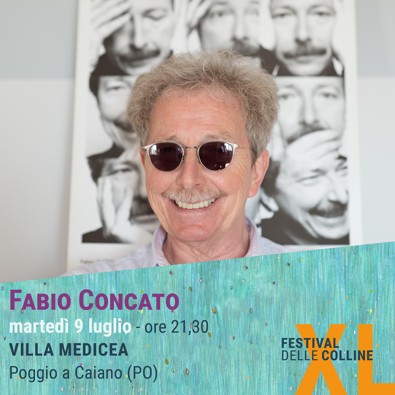 Fabio Concato al Festival delle Colline 2019